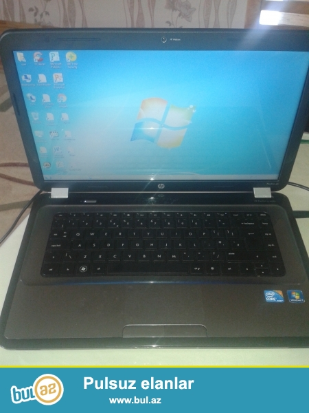 HP Pavillion G6, Core İ 3, Ram 3 GB, HDD 320GB, WebCamera, Micrafon, Metalik rəngdə...
