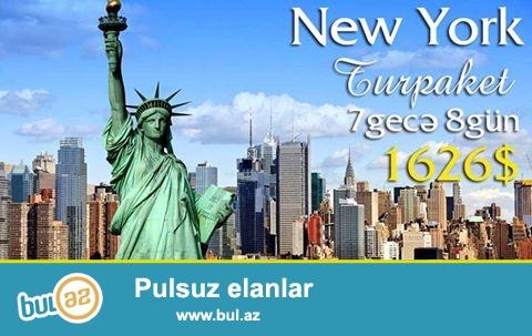 ● Незабываемый отдых в Нью-Йорке не оставит вас равнодушным<br /> ● Цена: $1626 c 02...