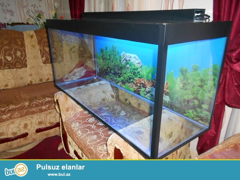 Akvarium 220 litre teze  <br /> 051 878 85 61