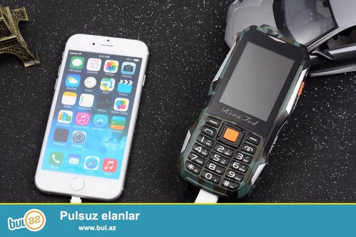 Yeni.Çatdırılma pulsuz<br /> 3 Nömrəli 10800mah batareyalı powerbank telefon<br /> 1 Nomrə CDMA 2 Nömrə GSM<br /> Rəng Qara<br /> Frequency<br /> <br /> GSM 850/900/1800 / 1900MHz / CDMA2000<br /> <br /> (Üç Nömrəli telefonCDMA x 1, GSM / WCDMA x 2)<br /> <br /> Dillər:İngilis, rus, ərəb<br /> <br /> (Qeydiyyat olunub 3 nömrədə!!!)<br /> <br /> Xüsusiyyətləri<br /> <br /> Viberation, bluetooth,SMS, MMS, takograf, Fənər,Zəngli saat, Kalkulyator, Təqvim, Recorder, MP3, MP4, kamera, şəkil, Powerbank, ebook