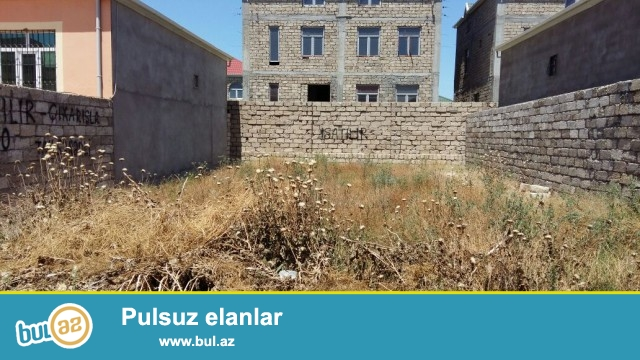 Sabunçu rayonu Zabrat 2 qəsəbəsində 2 sot torpaq sahəsi təcili olaraq satılır...