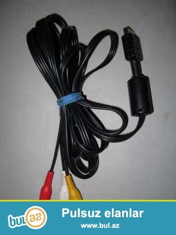 Av-kabel Playstation1,2,3 kompiyuturun üstünde gelen wunurdi<br />