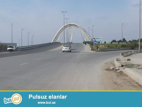 Tecili Bine qesebesin de bine mostun yaxinliqin da  4 sot torpaq sahasi satilir  sotu 4700azn