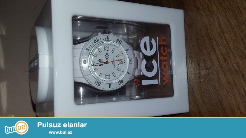Original Ice watch. Karobkasi da var. Endirim ede bilerem ciddi almag isteyen şexslere<br />