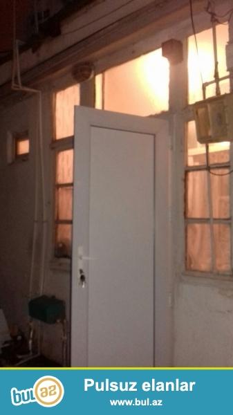 IDEAL BAZAR QIYMETINDEN UCUZ.Nerimanov rayonu U\Bunyadzade kucesinde 1 mertebeli binanin 1 ci mertebesinde 40 kv metr erazisi olan orta temirli 2 otaqli umumi heyet evi satilir...