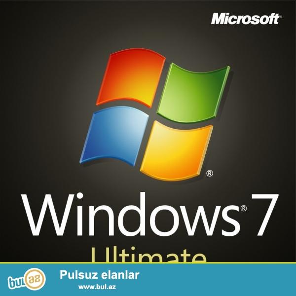 Windows 7 Format diski Ultimate x 64 <br /> Magazalarda 90-120 AZN arasidi <br /> Bu kodun sahesinde yoxlaya bilərsiz original oldugunu<br /> <br /> Windows 7 Ultimate x64 <br /> SHA1:81A09A02F0084BD0F5813F494F82A8B6426AA34A<br />