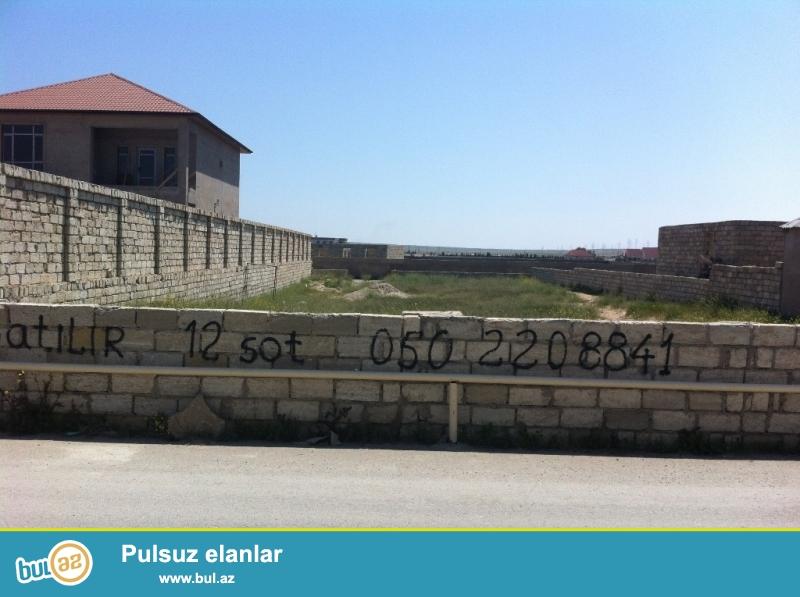 Təcili!!! Şüvəlan qəsəbəsinin Mayak ərazisində, əla yerdə, iki tərəfdən yeni asfalt yolu olan 12 sot bağ (torpaq) sahəsi...