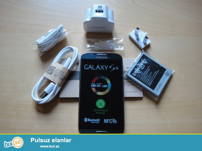 Samsung Galaxy s4 yeniSamsung Galaxy s4 yeni qutuda  zemanetle