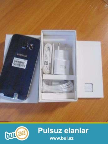 Samsung s6 edge yeni satilir son qiymetdir. asagi yeri yoxdur barter kredit yoxdur...