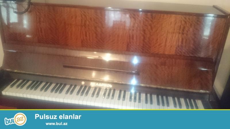 Qehveyi rengli, 3 pedalli, Belarus piano