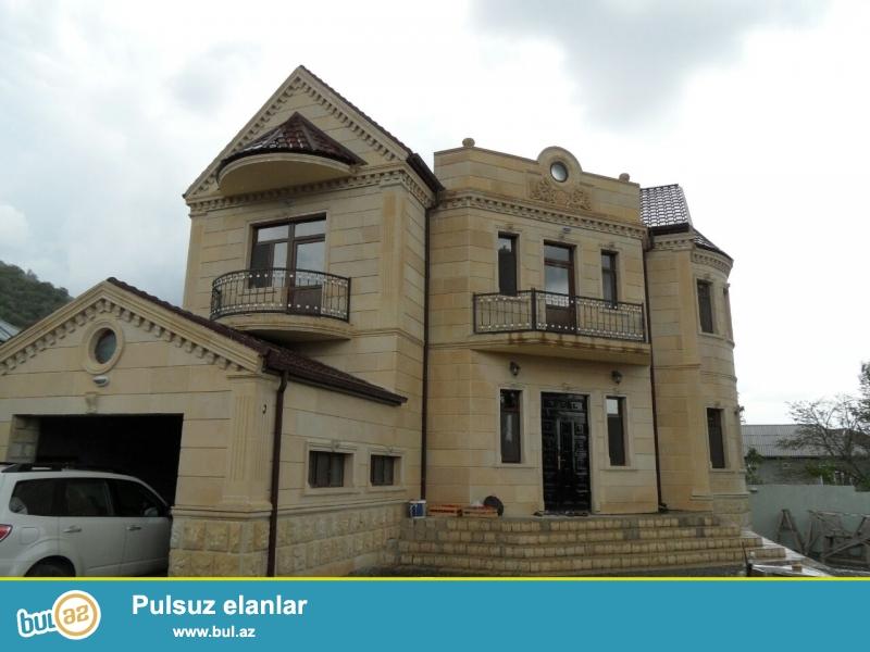 Şəhər mərkəzindən 4 km aralıda ISMAYILLIDA Kupuc daginin eteyinde Qebele yolunun ustunde tam luks seraitli Villa kiraye verilir...