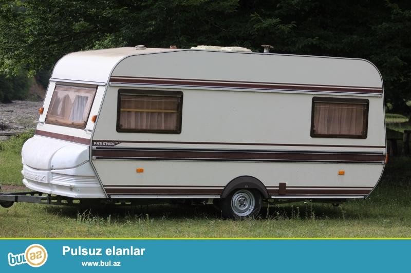Qoşqu-səyyar ev ( Almaniya istehsalı Hobby Prestige 455 ) az işlədilmiş və əla vəziyyətdə<br /> satılır...