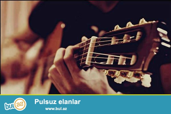Gitara dərsləri - 50AZN<br /> (aylıq ödəniş)<br /> <br /> Dərslər professional müəllim tərəfindən keçirilir...