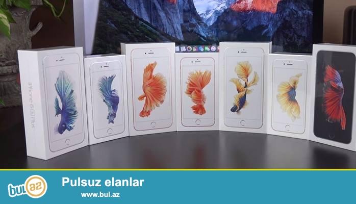 Apple iphone 6s satilir teze qutuda tayland istehsalidir 1:1 kopyadir...