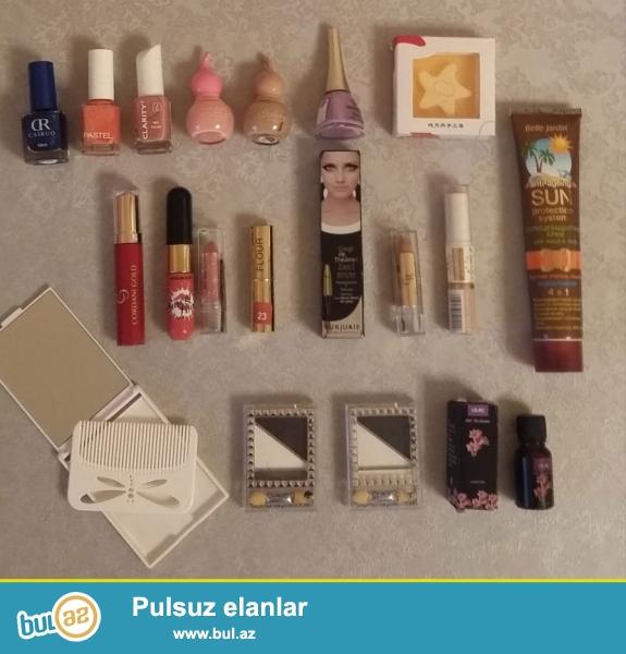 Kosmetikalar xirdavat mallar her biri 1-2  azn 050 330 40 86 Susen