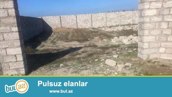 Shuvalanda mayak yolunda 12 sot KUPCALI tam hasarli torpaq sahasi satiram, Qaz, Ishiq, Su, Darvazali, saha duz sahadir...