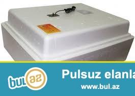 104 ededlik rusiya istehsali olan teze  regemsal yumurtalarin ve nemliyi avtomat ile tenzimleyen inkubator satilir...