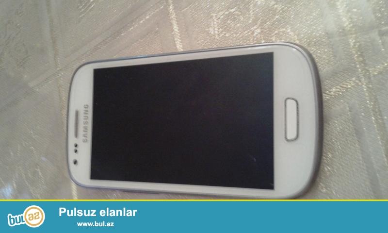 Samsung Galaxy S3 mini<br /> Telefon yaxşı vəziyyətdədir<br /> Heç bir problemi yoxdur<br />