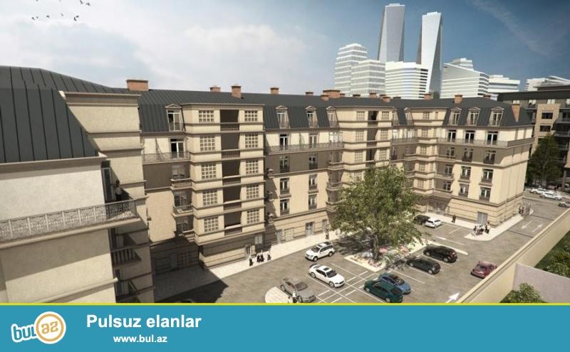 Bakı AĞ ŞƏHƏR layihəsində ekslyuziv - FORTİS yaşayış kompleksi 60 mənzilli 6 mərtəbəli yaşayış kompleksidir...
