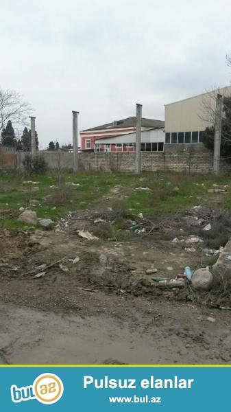 Nerimanov rayonunda iqtisadi zonada , kondisioner zavodunun arxasinda yerlesen 23 sot torpaq sahesi satilir...