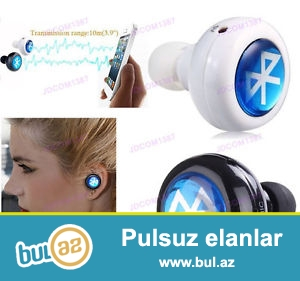 Bluetooth qulaqcıq Bütün nov telefonlar üçün...