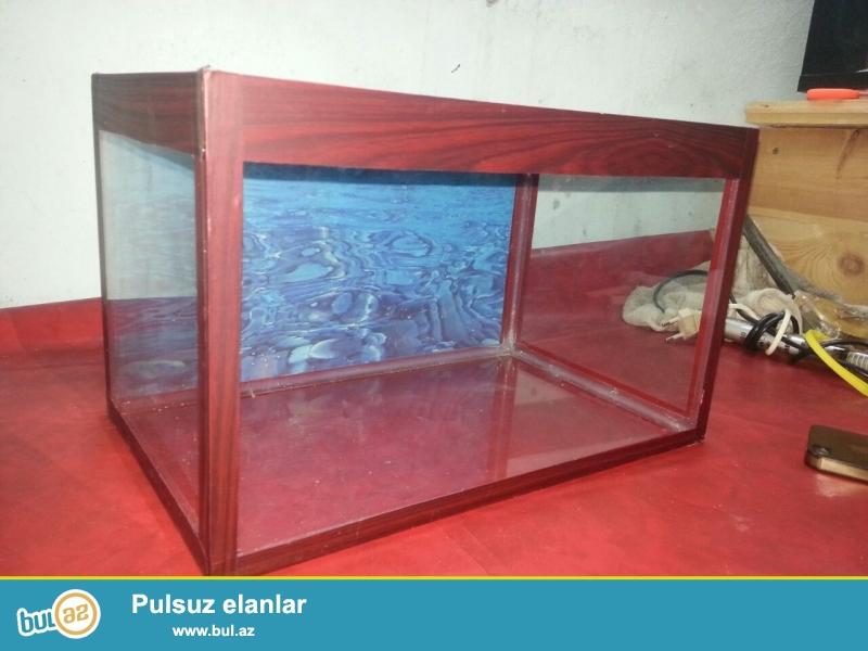 akvarium 8 azn  13 litrelik <br /> bawqa olculerdede var munasip qiymetlerle