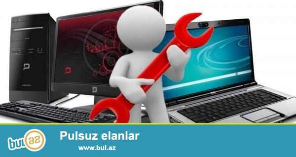 Personal və Notebookların Formatı Anti-Virusların Yazılması Fleşkartların Köçürülməsi Və S...