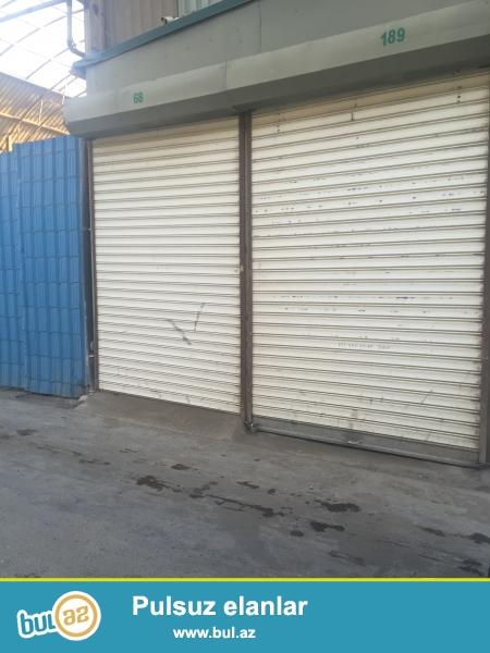 Satilir Saderek ticaret merkezinde 22 m² 2-ci sona 14-ci sira hal- hazirda icareye verilib.