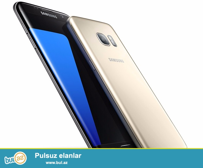 Samsung Galaxy S7 Edge, Amerikadan gətirilir. 1 il Qızıl-Zəmanət ilə...