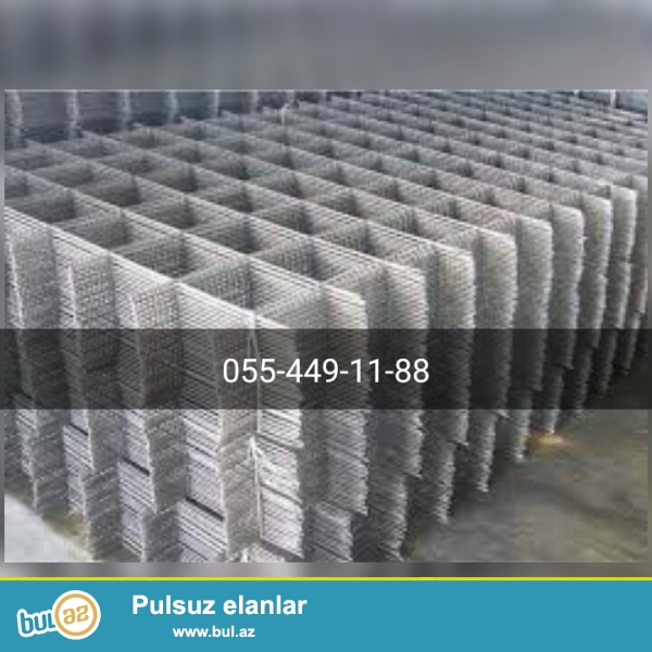 Optovoy her nov setka mehsularinin istehsali ceper aglay beton kontakt ceper setkasi 1...