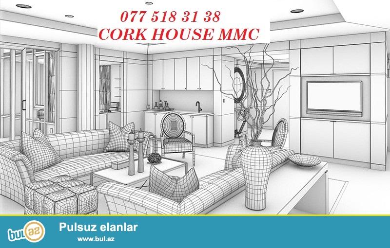 3D interyer dizayn proqrami vasitesile ev,villa ve interyerin dizaynlanmasi,eskizlerin cekilmesi Cork House MMC firmasinin pesekar dizayberi terefinden heyata kecirilir,1 kv/metri cemi 10 azn...
