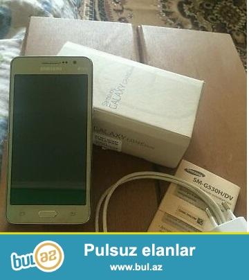 Samsung Grand Prime ciziqsizdir Az islenimis  ciziqi yoxdur qutusu orqinal adapter ve qulaqcigi kitabcasi ustundedir...