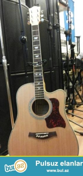41 olculu yeni Lucky Star markali akustik gitar.<br /> <br /> yalniz H...