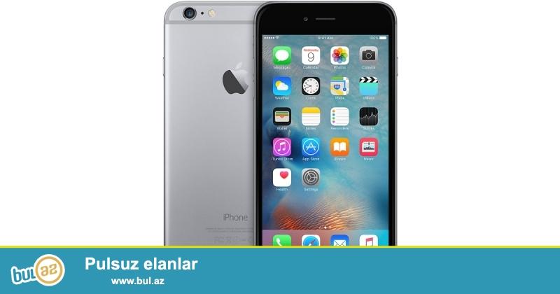 iPhone 6 128gb Space Gray, Amerikadan gətirilir. 1 il Qızıl-Zəmanət ilə...