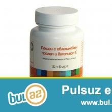 Polien.omeqa-3(48AZN) <br /> Tərkibi:balıq yağı,çaytikanı yağı,E vitamin,qida jelatini,qliserin,limon turşusu...