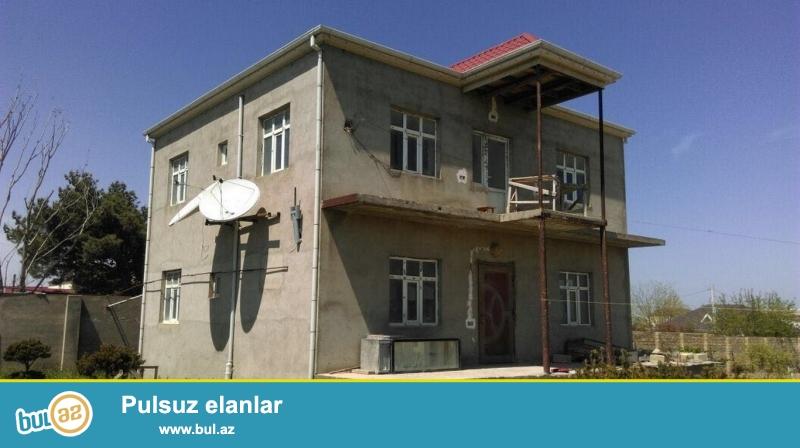 Срочно! В посёлке Новханы  рядом  ресторана * Лачын* в 950 метрах от центральный дороги, продаётся  3 -х этажный, 6-и комнатный, расположенный на 30 сотках   особняк  ...