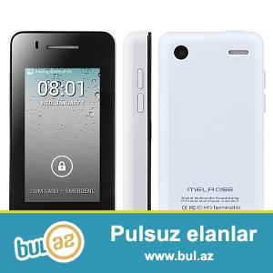 Yeni.Çatdırılma pulsuz.<br /> Dünyanın En balaca Android Smartfonu MELROZ S1 Duos MP3 Terminator Mini Android 4...