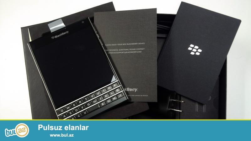 BlackBerry Passport yeni satilir tecili pul lazimdir son qiymet barter kredit yoxdur...