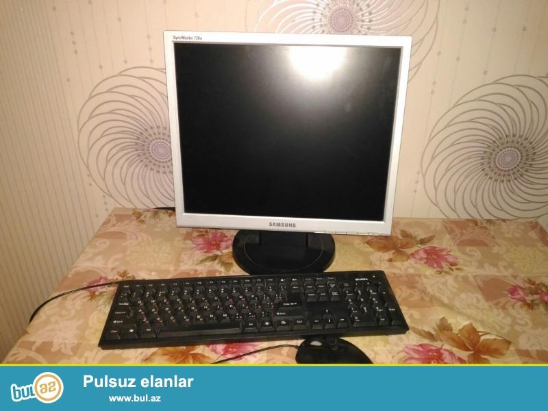 Normal vəziyyətdə olan ikinci əl stolüstü komputer satılır...