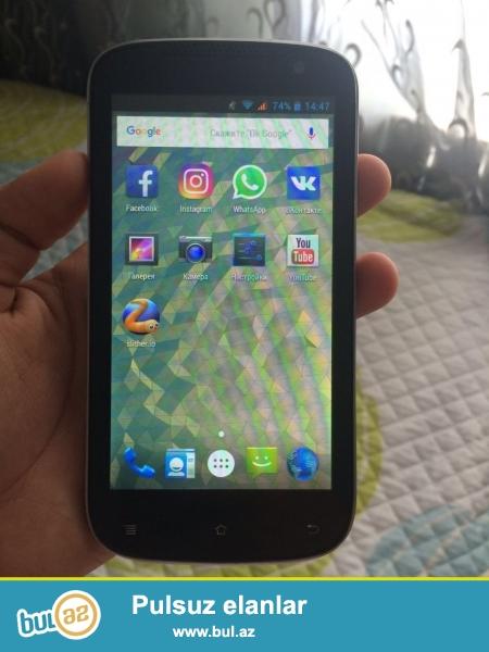 Telefon yaxwi veziyyetdedi,arxa-qabag kamerasi var,qabag 2mp,arxa 5mp, processorun gucu 1,5 gb,zaryadka saxlamagi eladi, barterde ederem samsung galaxy s3 nen,s4 mini, veyaxut android telefonnan.