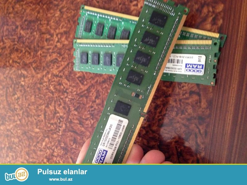 Salam 3 eded 2gb ddr3 1333 mghz ram masa ustu kompyuter ucun tecili satiram tam islek veziyyetde qiymeti razilasma yolu ile asaqi yeride var ...