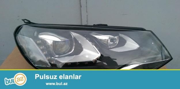 Фара правая VW Touareg NF адаптивная, оригинал б\у без дефектов, без блоков и ламп...