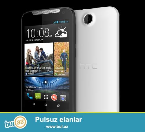 HTC Desire 310 Dual Sim<br /> Telefonu xanım işlədib, alınan gündən üstündə koburo, ekran qoruyucusu olub, heç bir zədəsi, cızığı, xarab yeri yoxdur...