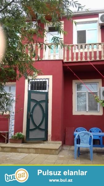 Bileceri qesebesi Ag saray sadliq evi yaxınlığında yerləşən1,8 sot ərazidə ümumi tikili sahəsi 150 kv...