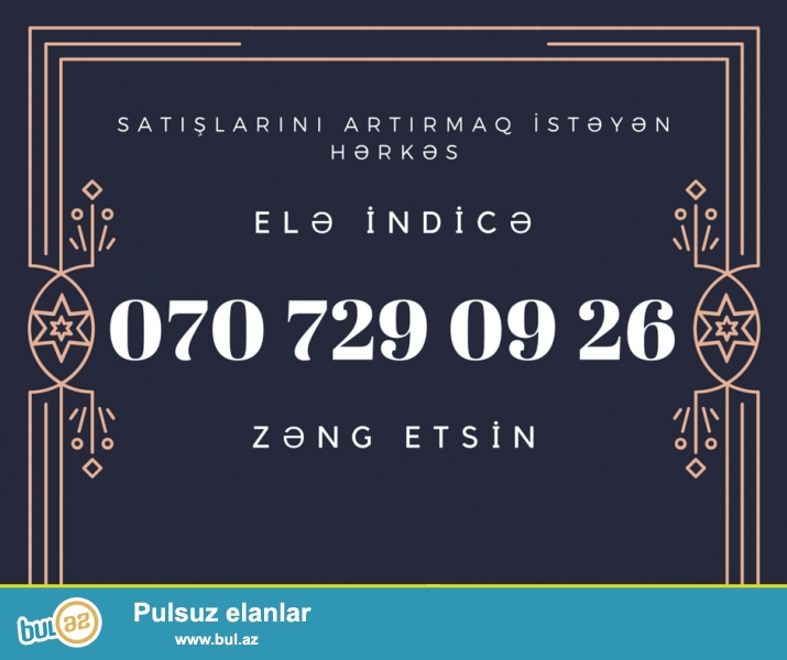Hər cür reklam işlərini bizə etibar edə bilərsiz...