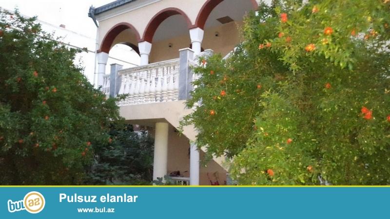Очень срочно! Рядом с проспектом Ататурка за  БАНК ОФ БАКУ   не далеко  м/с Генджлик  , продается  2-х этажный  8-ми комнатный  частный дом -особняк  площадью  530  квадрат...