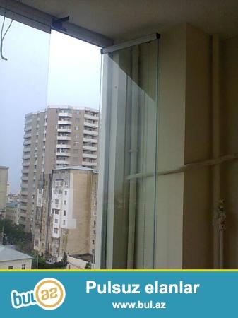 Cam balkon sifarişi qəbul olunur.Türkiyə istehsalı olan Altim profili və 8 və ya 10 mm temper şəffaf şüşədən hazırlanır...