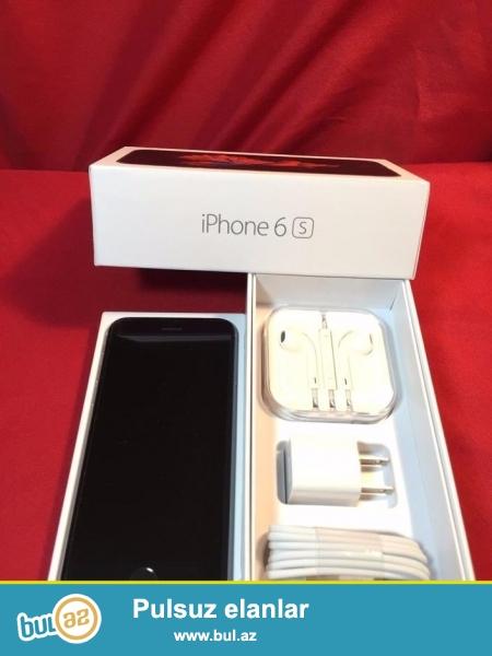 Iphone 6s yeni pakofkada satilir, 1:1 kopya orginaldan ferqlenmir...