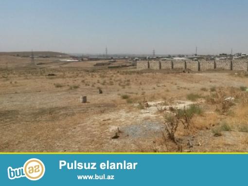 Gəncli metrosunun yanında 20  sot özəl torpaq satılır...