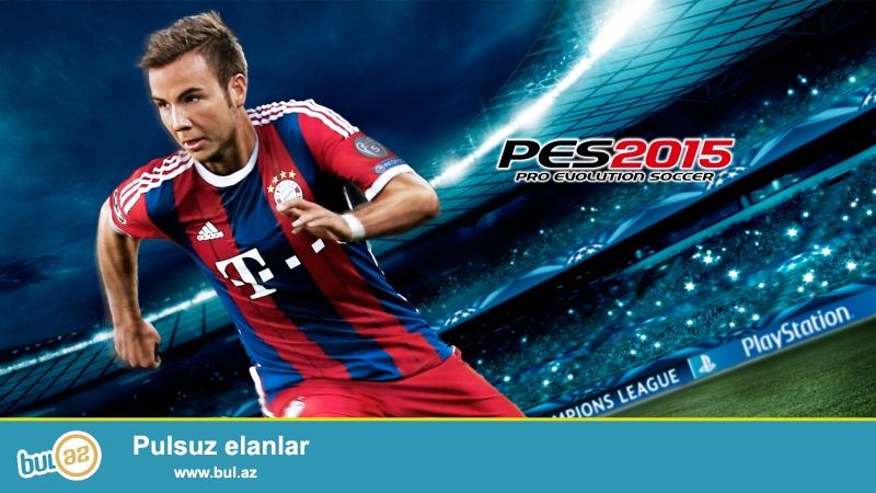 Playstation 4 ucun Pes 2015 oyunu satilir